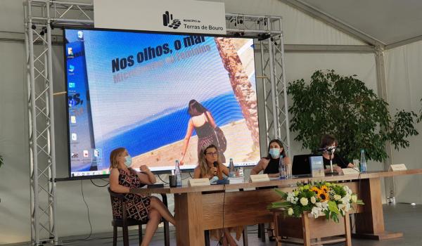 Cerimónia de apresentação da obra literária Nos olhos, o mar – MicroContos no Feminino