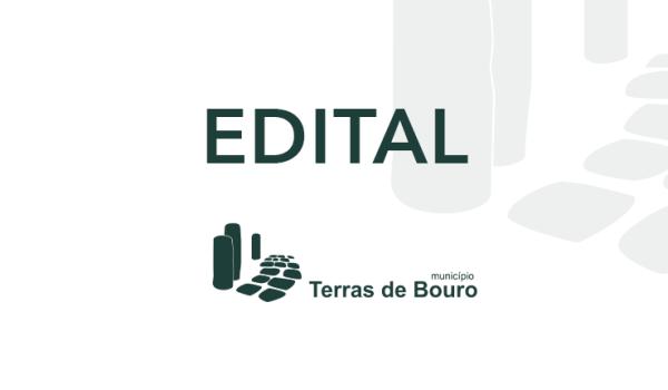 """EDITAL - Convocatória para sessão de esclarecimentos sobre a cedência de parcelas de terreno destinadas ao """"Alargamento e Repavimentação da Estrada da Ermida - Vilar da Veiga"""""""