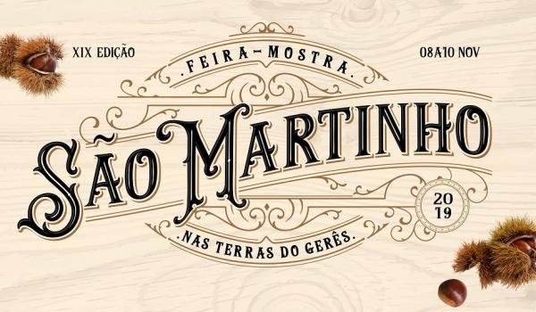 Inscrições para a 19.ª edição da Feira Mostra de S. Martinho nas Terras do Gerês – 8 a 10 novembro