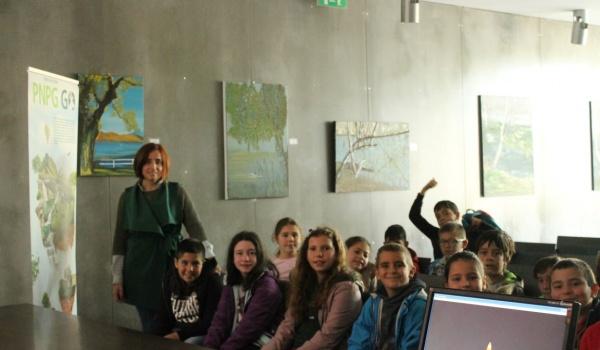 Alunos do Agrupamento de Escolas visitam a Porta do Mezio no âmbito do Projeto Educativo PNPG Go desenvolvido pelo Município de Terras de Bouro
